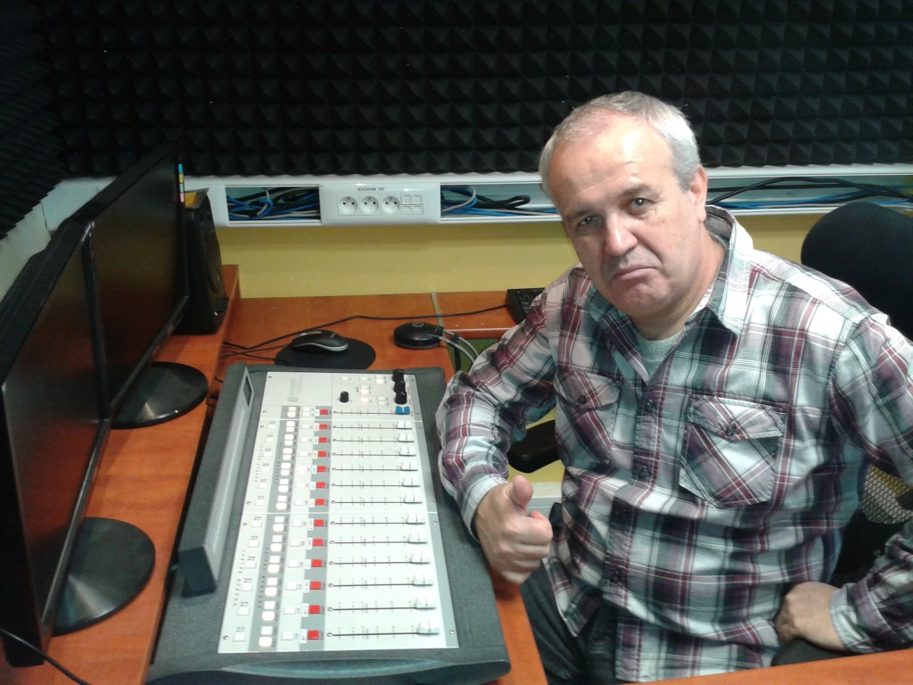Dj Robo Majling v rádiu Aligator
